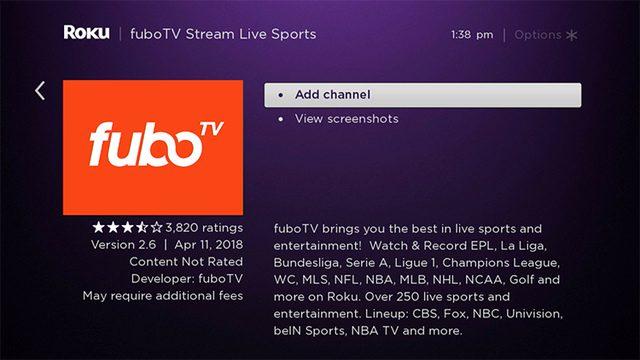 Fubo add channel