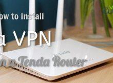 Set Up VPN on a Tenda Router