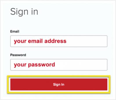 Sign in to ExpressVPN