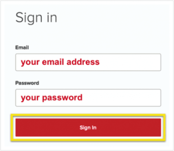 Sign in to ExpressVPN