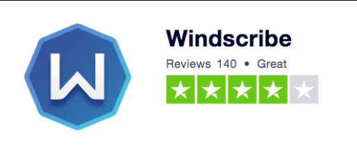 Windscribe Trustpilot