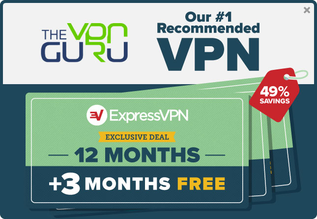 Exclusive ExpressVPN Discount Coupon (Free 3 Months + 49% Off!) -