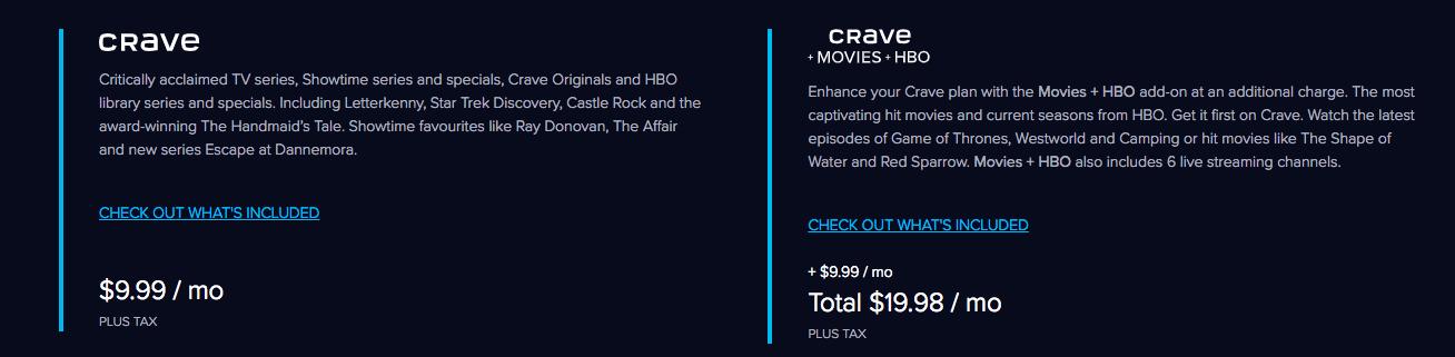 Crave Subscription