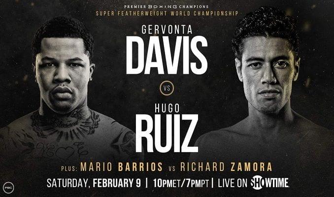 How to Watch Davis vs. Ruiz Live Online