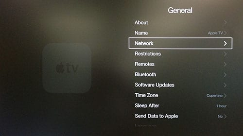 Network Apple TV