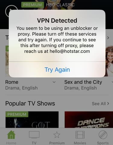 Expressvpn Hotstar Not Working