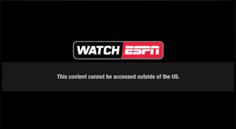 WatchESPN Error