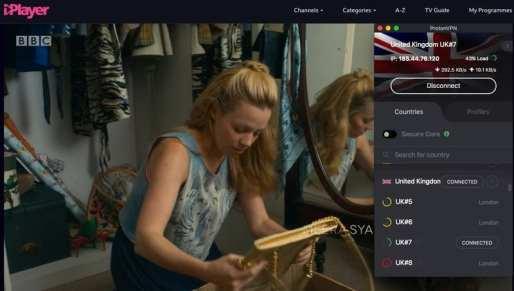 BBC iPlayer Proton