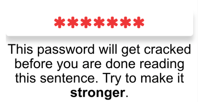 Password Strength Time To Crack