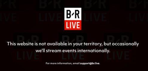 B:R Live Geo-Error