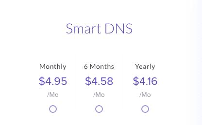 Unlocator Smart DNS Price