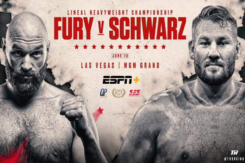 Watch Fury vs Schwarz Anywhere