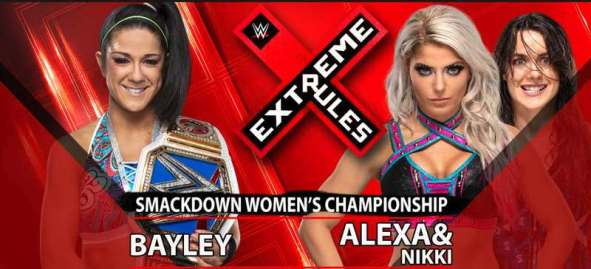 Bayley vs. Alexa and Nikki