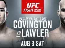 How to Watch UFC on ESPN- UFC on ESPN: Covington vs. Lawler Live Online