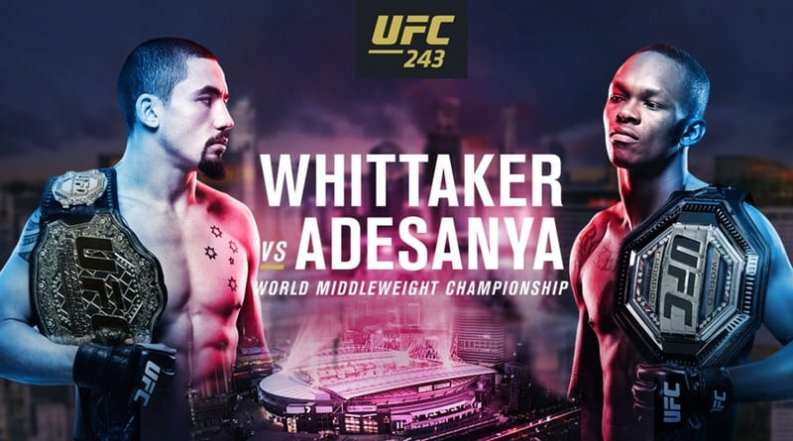 How to Watch UFC 243 Live Online
