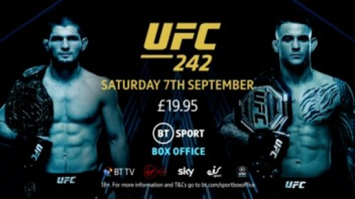 UFC 242 Price in UK