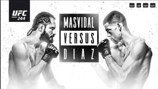 UFC 244 in Australia