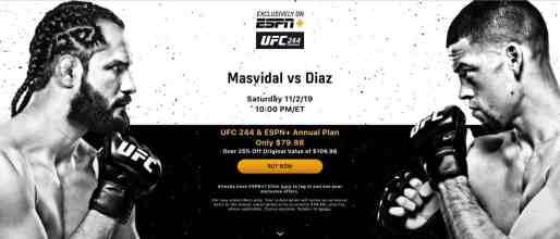 UFC ESPN+ PPV