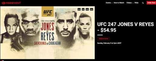 UFC 247 Main Event