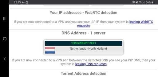 Atlas VPN Leak Test 2