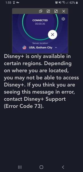 SecureLine Disney