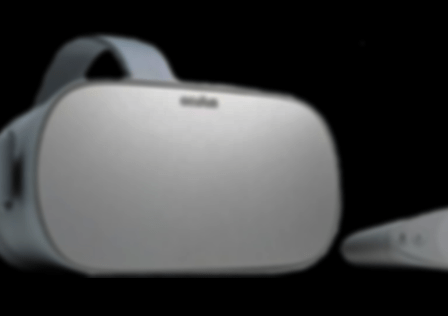 Oculus Go Black Background