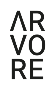 This image has an empty alt attribute; its file name is ARVORE_LOGO_Black-185x300.png