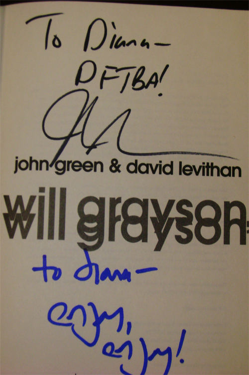 Signed Title Page