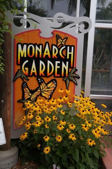 Monarch Garden Sign