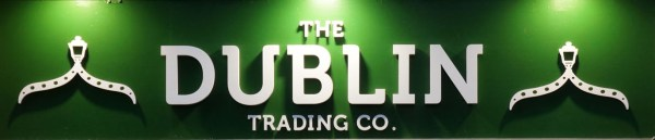 The Dublin Trading Co. sign