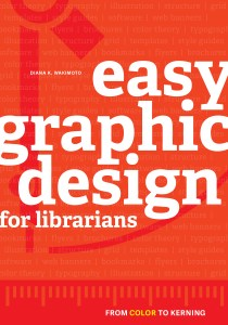 easy graphic design for librarians book cover
