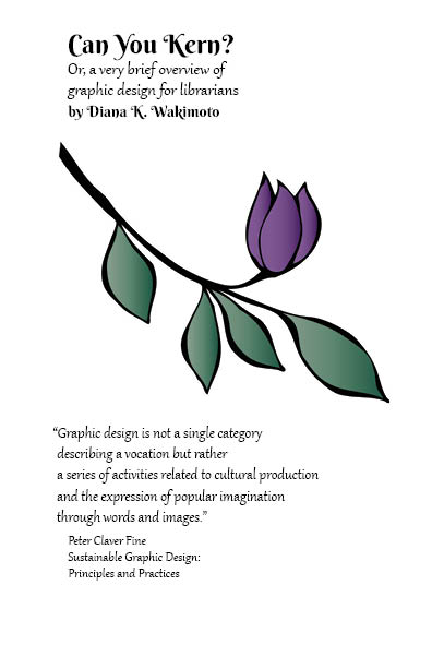 image of first page of brochure from ALA Midwinter, links to PDF of handout if clicked