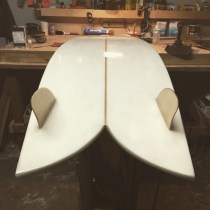 Another man's surfboard.