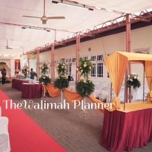 Hijab Semi Tirai Thewalimah