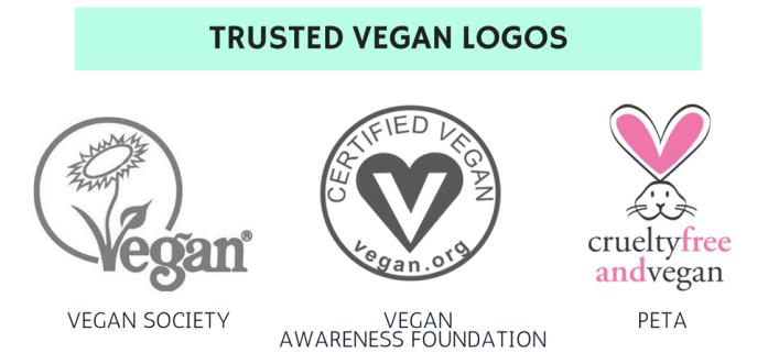 vegan logos