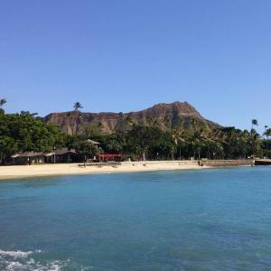 Hiking Diamond Head, Honolulu, Hawaii