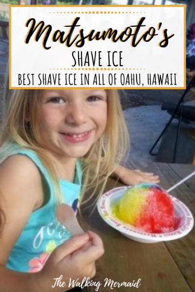 matsumotos shave ice oahu hawaii overlay pinterest image pin