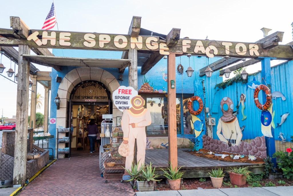 The Sponge Factory at the sponge docks in tarpon springs