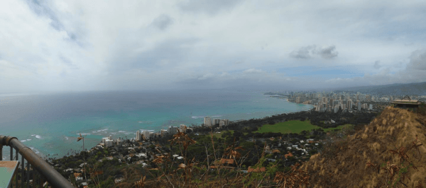 Diamond Head Crater Trail Honolulu Hawaii