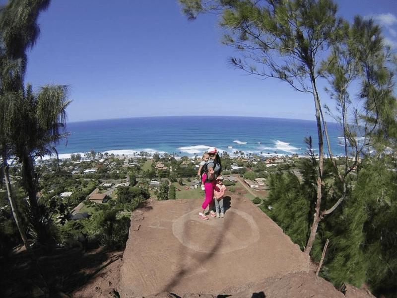 Ehukai Pillbox Trail, Northshore, Hawaii