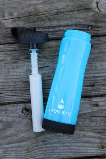 Hydroblu Clear Flow Water Bottle And Filter Combo