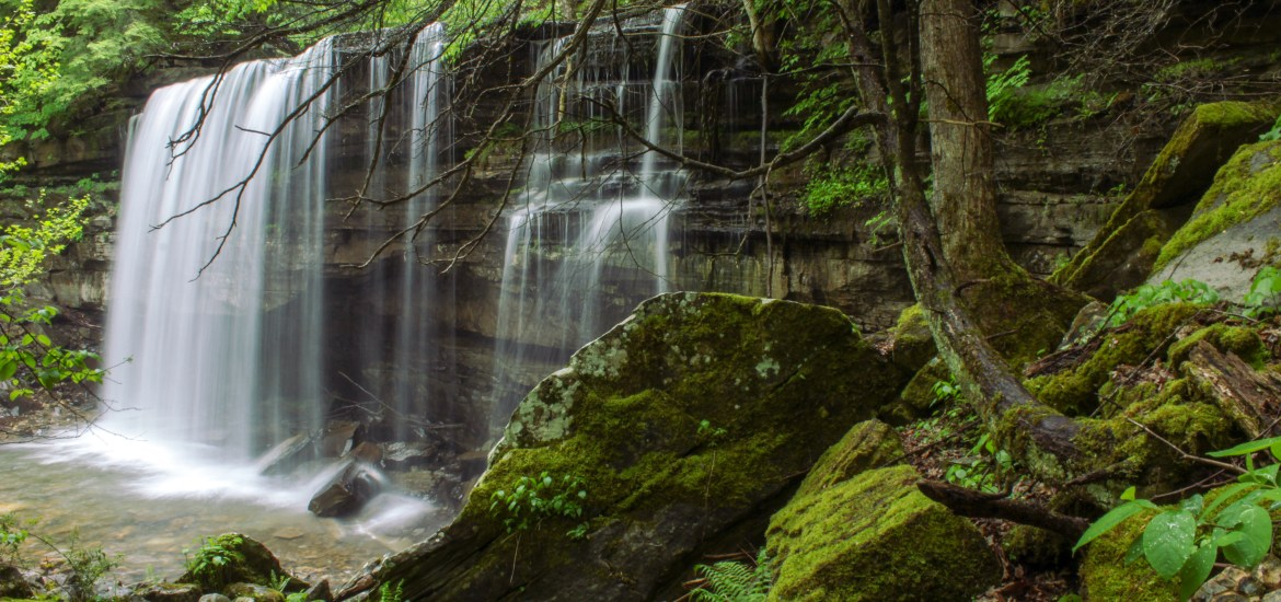 Ranger Falls south cumberland state park tennessee