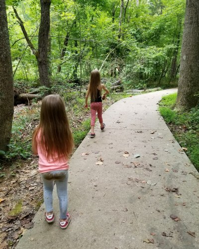 hiking with kids rotary park clarksville tennessee