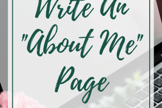 """How to write an """"About Me"""" page that stands out to your audience."""