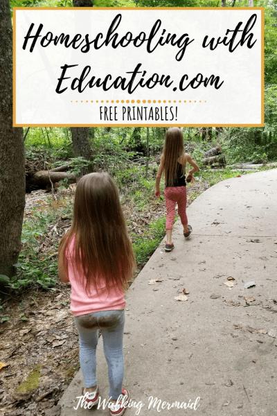 overlay homeschooling education.com free printables