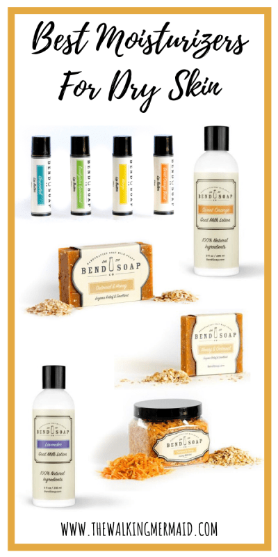 - Best Moisturizer For Dry Skin - Bend Soap Co. Infographic
