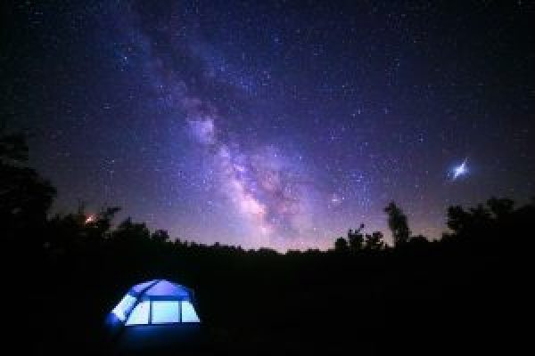 milkyway galaxy stars astrophotography camping