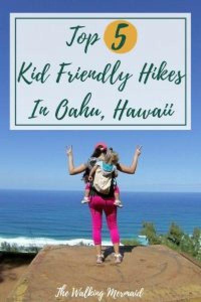 top 5 kid friendly hikes in oahu hawaii