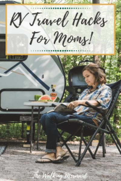 RV travel hacks for moms