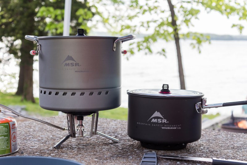 msr gear wind burner stock pot sauce pot stove system alpine deluxe kitchen utensils